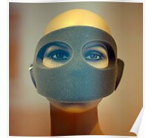 Portrait of  a Masked Female Mannequin 1 Poster