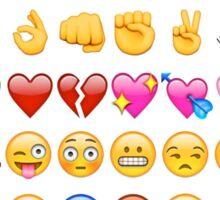 Emoji Print Sticker