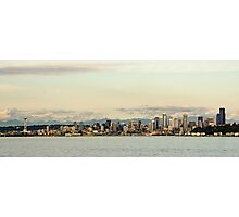 Seattle Skyline Photographic Print