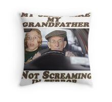 Geriatric Drivers Throw Pillow