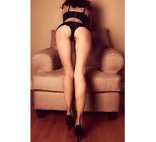 Erotic Legs - nude fine art sexy girl proud calm woman beauty romance kinky Photographic Print
