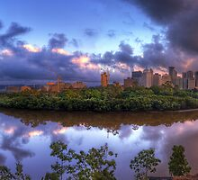 Kangaroo Point Dawn by Ryan O'Donoghue