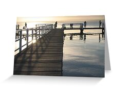 Boonerah Point Sunset Greeting Card