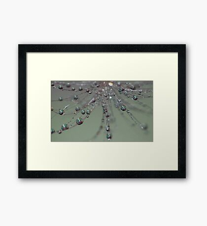 Happy Faces Framed Print