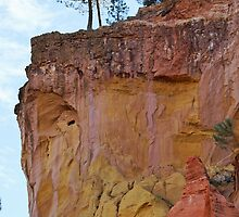 Ocher cliffs by Joeblack