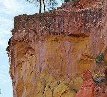 Ocher cliffs by Joeblack