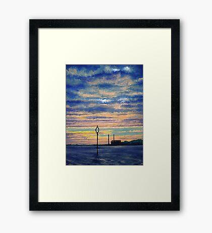 Cockenzie Sunrise Framed Print