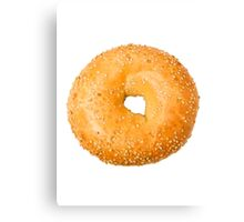 bagel Canvas Print