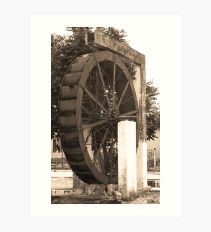 Roda da Agua - Orizona Art Print