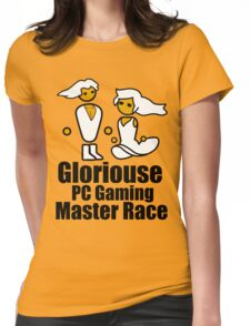 Sir and Lady of the Mast Race - PC Master Race Womens Fitted T-Shirt
