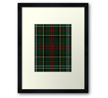 00376 Royal Army of Oman Tartan  Framed Print