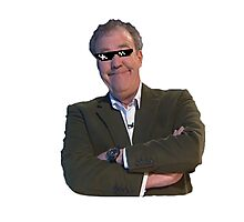 Jeremy Clarkson Deal with It Photographic Print