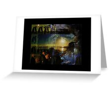 Reflections - we are the people. Greeting Card