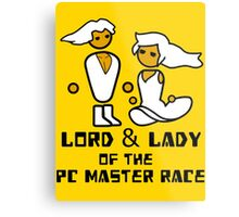 Lord and Lady of the Gloriouse PC Gaming Master Race Metal Print