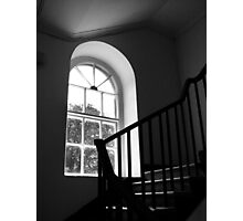Grand Hotel Window & Stairway Photographic Print