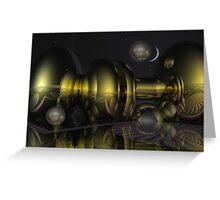 Nighttime magic Greeting Card