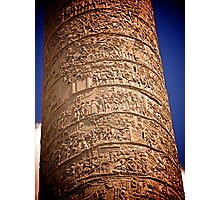 Trajan's Column, Rome Photographic Print