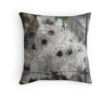 Art Nouveau  seed pods ................ Throw Pillow