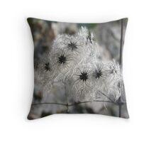 Art Nouveau  seed pods ................ Throw Pillow