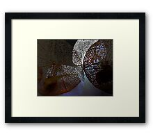 Strong Contrast Framed Print