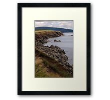 Cliffs of Cape Breton Island Framed Print