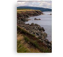 Cliffs of Cape Breton Island Canvas Print