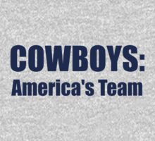 Cowboys: America's Team by nyah14
