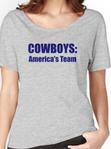 Cowboys: America's Team Women's Relaxed Fit T-Shirt