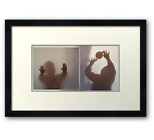 Touch Me Framed Print