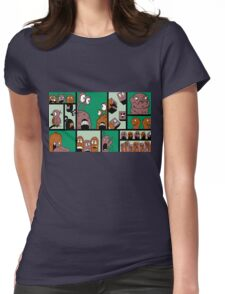 Fun Times - Green Womens Fitted T-Shirt