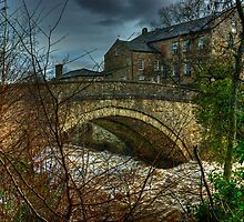 Aysgarth Bridge and The Old Mill by VoluntaryRanger