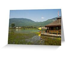 Green Lake, Whistler Greeting Card