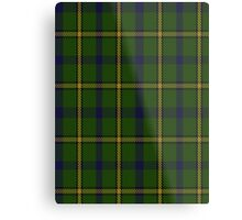 00378 Salvation Army Hunting Tartan  Metal Print