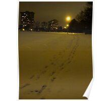 Warm Winter's Night Poster