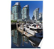 Coal Harbour Condos Poster
