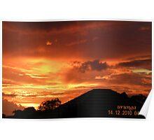 Urunga sunrise Poster