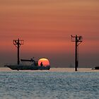Leisure ride, Kuwait ocean sunrise by NicoleBPhotos