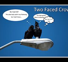 Two Faced Crow by Lisa Knechtel