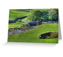Dales Bridge Greeting Card