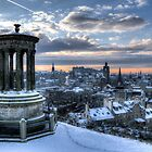 Edinburgh from Calton Hill by rgstrachan