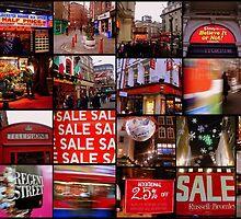 Amazing London - Big City lights  - Collage - (UK) by Daniela Cifarelli