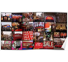 Amazing London - Big City lights  - Collage - (UK) Poster