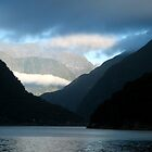 Milford Sound weather systems by Petra Sonderegger