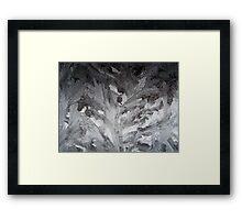 crystals 7 Framed Print
