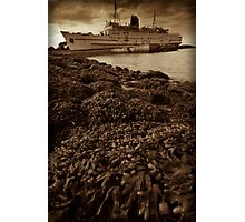 Old Rusty Liner Photographic Print