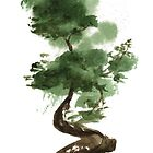 Little Zen Tree 142 by Sean Seal
