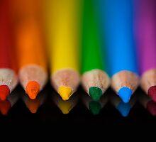 Rainbow Row by Lisa Knechtel