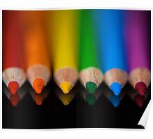 Rainbow Row Poster