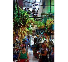 San Jose Market, Costa Rica Photographic Print