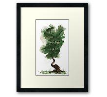 Little Zen Tree 143 Framed Print